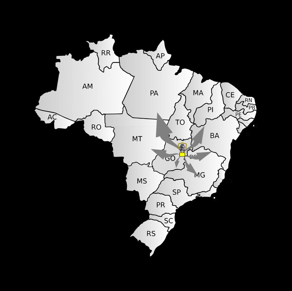 Mapa união