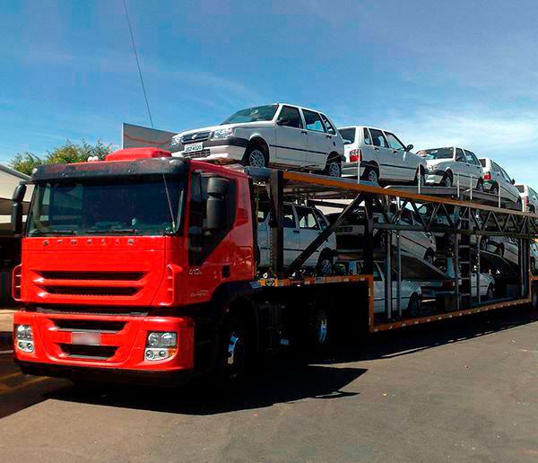 Transporte de veículos - União Transportadora